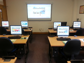 Click to view our belfast city centre training suites